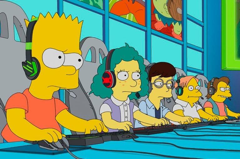 Esport en los Simpson